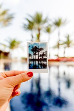 """Tropical escapes are always unforgettable. Relaxing on the beach or by a pool with sunshine, soaking in bright blue waters, experiencing new activities, tasty food and cocktails is always better shared with someone. Cory and I had the amazing opportunity to work with Autograph Hotels and capture our unforgettable experience with Polaroid at The Cove Atlantis in the Bahamas!"" 