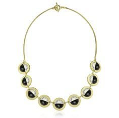Capture style with the Galileo necklace from the Orbit Collection! #Orbit #Collection #NEW #Online #Now #nOirJewelry #NYC