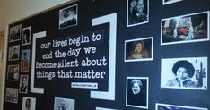Black History Month bulletin board Black Bulletin Boards, History Bulletin Boards, Welcome Bulletin Boards, February Bulletin Boards, Teacher Bulletin Boards, History Classroom Decorations, World History Classroom, High School History, Black History Month Quotes