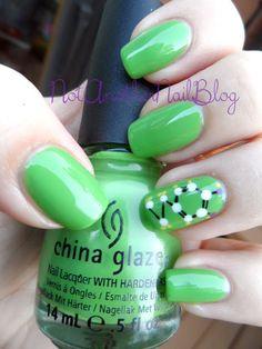 Not Another Nail Blog: China Glaze Nerdy Nail Art
