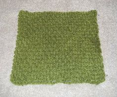 Learn to Knit: Blocking Knitting - How to Block Knitting