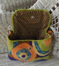 Pattern Flapjack Purse By Perennial Blessings Hooked Jane Doppke Crocheted Together With Hand Dyed