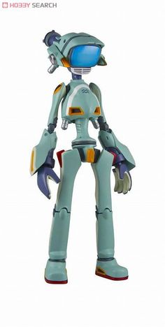 Sentinel FLCL: Canti Green Riobone Action Figure A Japanese import From the original video animation series Detailed RIO:Bone figure Robots Characters, Face Characters, Anime Figures, Action Figures, Tv Head, Canti, Robot Design, Vinyl Toys, Designer Toys