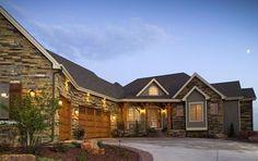 Walk Out Basement House Plan  3,321 sf / 5,564 sf with basement  5/4