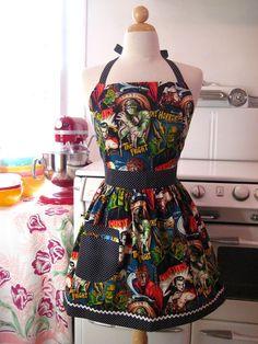 Horror movie apron!