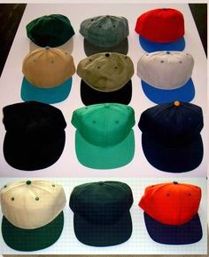 This great assortment of baseball hats are very high quality.   Assortment includes adjustable and fitted hats - can not guarantee what styles you will receive.   Made in the USA! Only $80 each. #hat #cap #baseball #sports