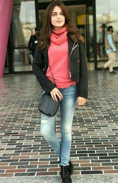 Pakistani Actress, Bollywood Actress, Girl Crushes, How To Look Better, Peplum, Bomber Jacket, Actresses, Actors, Celebrities