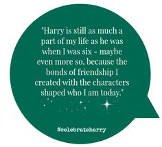 July is Harry Potter Month! We asked fans to tell us what Harry Potter means to them. #celebrateharry #harrypotter