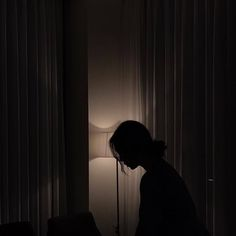 A woman in a dark room. A woman standing by windows at night. Night Aesthetic, Aesthetic Photo, Aesthetic Girl, Aesthetic Pictures, Dark Room Photography, Photography Poses, Amazing Photography, Lonely Girl Photography, Window Photography
