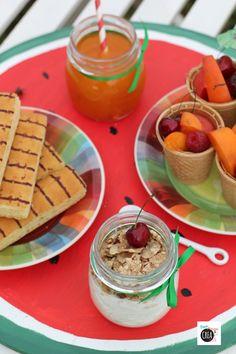 summer breakfast -  Idee colorate e creative per la colazione dell'estate!