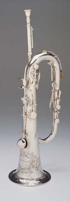 Keyed bugle in Eb (Wright, about 1854)