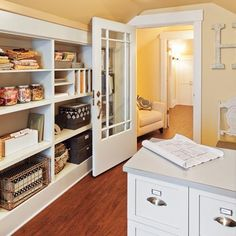 Tapping Existing Potential to Create an Attic Master Suite Attic Master Bedroom, Attic Rooms, Attic Spaces, Attic Renovation, Attic Remodel, Built In Shelves, Built Ins, Dressing, Home Projects