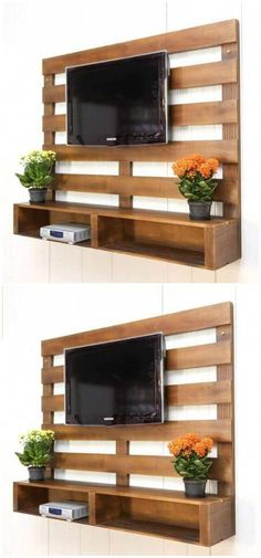 Wood pallets 265501340516705446 - Here we are bringing you the latest pallet ideas for home decor that will make your home delicate and full of glamor in appearance.Wooden Pallet TV Stand Source by Pallet Home Decor, Wooden Pallet Projects, Wooden Pallet Furniture, Pallet Crafts, Wooden Pallets, Diy Furniture, Pallet House, Pallet Wood, Rustic Furniture