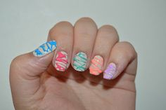 Sugar Spun Nail Art