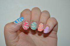 Sugar Spun Nail Art