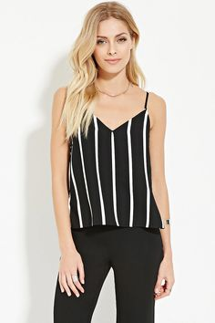 Contemporary Striped Cami