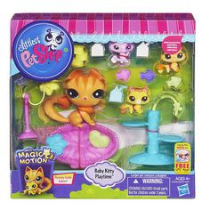 "Littlest Pet Shop Magic Motion Baby Kitty Playtime Set - Hasbro - Toys ""R"" Us"