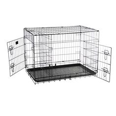 Special Offers - Pet Trex 2192 ABS 36 Inch Dog Crate Folding Pet Crate Kennel for Dogs Cats or Rabbits 36 - In stock & Free Shipping. You can save more money! Check It (July 28 2016 at 01:57PM) >> http://doghousesusa.net/pet-trex-2192-abs-36-inch-dog-crate-folding-pet-crate-kennel-for-dogs-cats-or-rabbits-36/