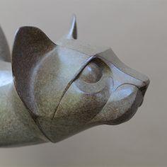 Мартин Hogeweg  скульптуры из бронзы