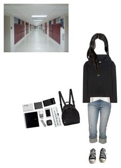 """A day in school"" by sweetdreamer13 ❤ liked on Polyvore featuring art"