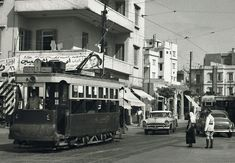 #Beirut Tramway, at The End of Horsh Line [1955]   Submitted by Mohamed Mekkawi    #ILoveLebanon