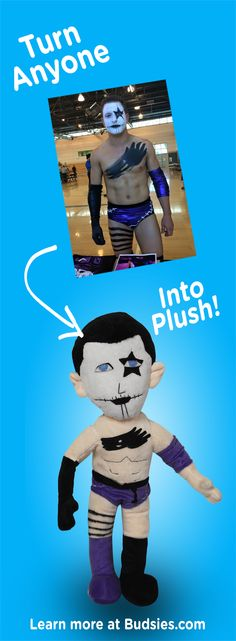 Check out this funny gift idea. Turn your coworkers, friends, or loved ones into hilarious custom plush dolls. Super simple to order - check out Budsies.com!