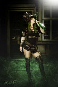 Green Lady by Heiko Warnke, via 500px