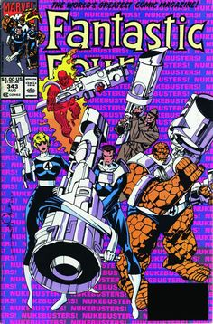 Fantastic Four 343, cover