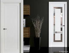Puertas Castalla - Hopper Closets, Tall Cabinet Storage, Oversized Mirror, Doors, Furniture, Design, Home Decor, Interior Doors, Home