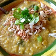 """Vegan Red Lentil Soup 