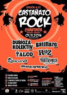 Castañazo Rock. Chantada 2014