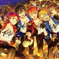 Frontier Works unveil cover art for Trickstar's album – The Hand That Feeds HQ Dark Anime Guys, Cute Anime Guys, Anime Boys, Cover Art, Star Character, L Lawliet, Star Art, Ensemble Stars, Anime Kawaii