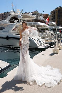 ROSALIE wedding dress ONLY at Charmé Gaby Btidal Gown boutique Clearwater FL