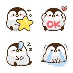 Free Hugs Pinguin Penguin Cute Cartoon Weiß Auto Vinyl Decal Sticker Aufkleber