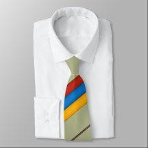 Armenian Tricolour Tie  Եռագույն