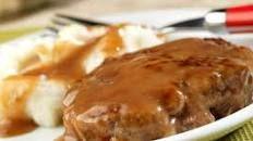 Instant Pot Salisbury Steak with Easy Mushroom Gravy - Live Simply