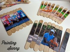 DIY Personalized Photo Puzzles, Preschool Travel Activities   Painting Sunny