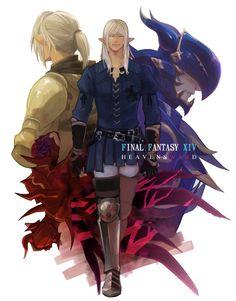 LOGs Final Fantasy XIV fan art