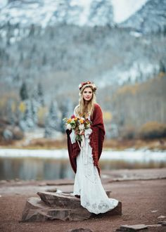 Cozy Aspen Elopement in the Maroon Bells
