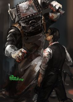 The Evil Within: The Executioner The Evil Within Game, Monster List, Layers Of Fear, Cry Of Fear, Psychological Horror, Dark And Twisted, Boyxboy, Horror Art, Resident Evil
