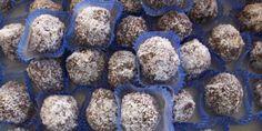 Palline al Cocco, Ricotta e Cioccolato