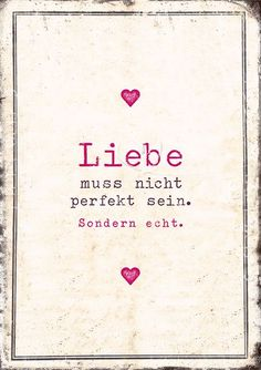 love has to be real #liebe #postkarte #herz