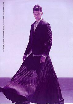 men's grunge fashion   Menswear Monday: Men in Skirts   fashion. grunge. style.