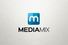 M Logo - Media Logo by Arslan on Creative Market