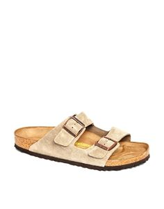 Birkenstock Arizona Sandals in Beige