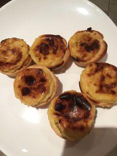 Pasteis de nata avec pâte feuilletée express