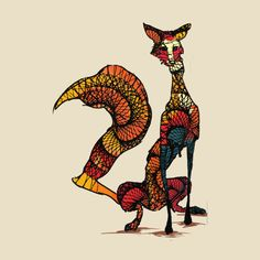 Awesome 'fox+you' design on TeePublic!