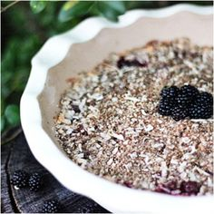 Wild Blackberry Crumble that can easily be made gluten free or sugar free Wild Blackberry Recipe, Blackberry Crumble, Sugar Free Desserts, Sugar Free Recipes, Frozen Desserts, Light Desserts, Diabetic Friendly Desserts, Diabetic Recipes, Diabetic Foods
