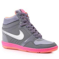 Tênis Sneaker  Nike Force Sky High 629746  - Chumbo