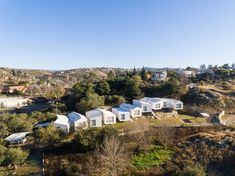 Completed in 2014 in Villa Carlos Paz, Argentina. Images by Gonzalo Viramonte. 5 houses that work together, using the natural topography of the site looking for the best views. the project is located in mountain environment,. Hillside House, Shadow Play, Nice View, Dolores Park, Environment, Villa, Urban, Landscape, Houses